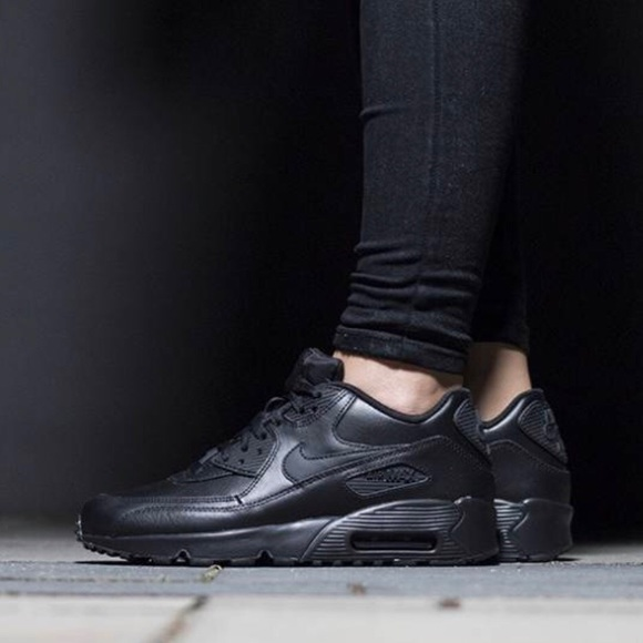 taille 40 88201 2316f 🌧New🌧 NIKE triple black Air Max 90 LTR GS